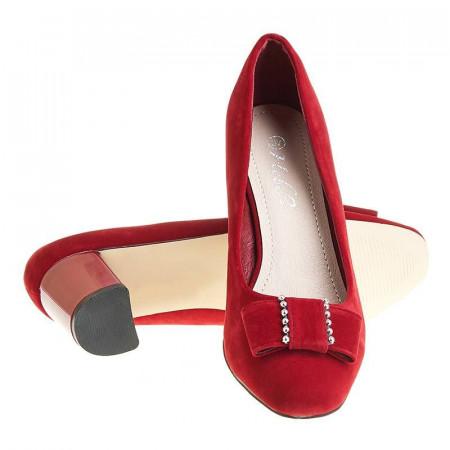 Pantofi office cu toc mic Adela