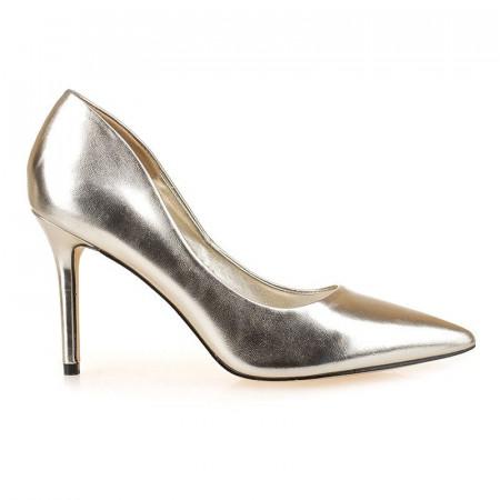 Pantofi stiletto aurii Lia