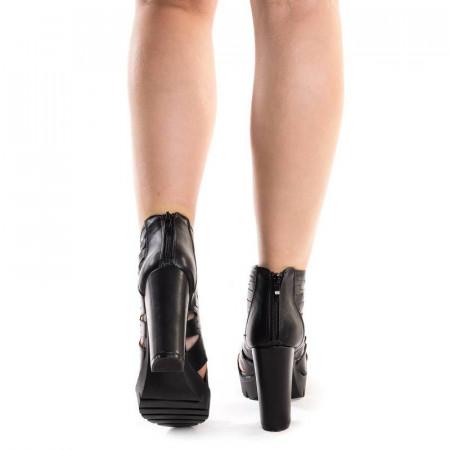 Sandale cu platforma chic Adalina