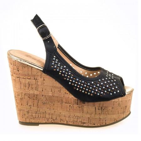 Sandale cu platforma Salma