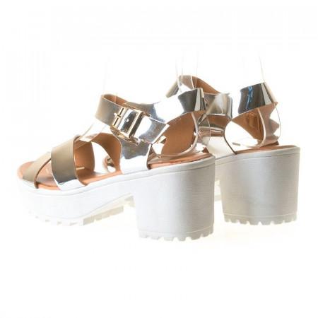 Sandale sport Antonia argintiu