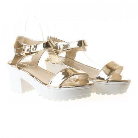 Sandale sport Letitia gold