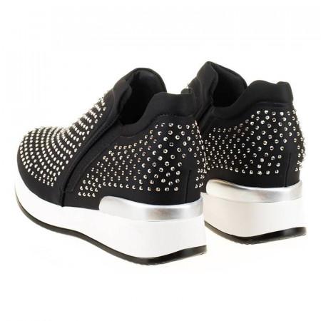 Sneakers cu tinte si talpa inalta Angi