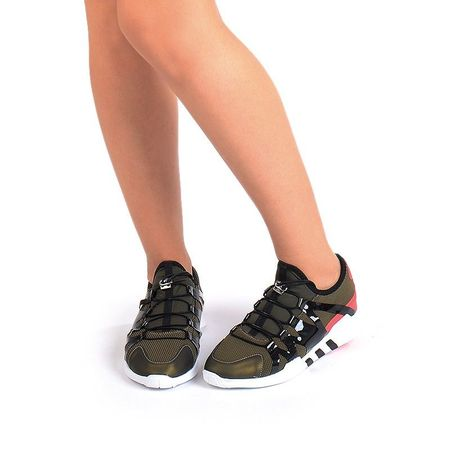 Sneakers stil adidas verde Salma