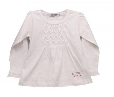 Bluza fete white Valentine