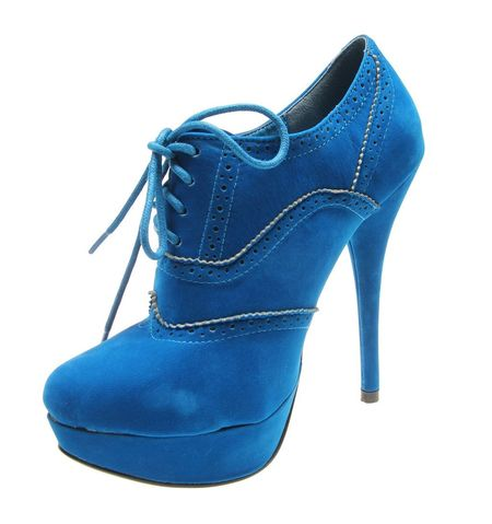 Botine de dama blue Karma