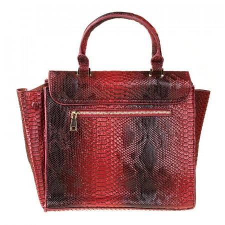 Geanta trendy la moda Nadia rosso