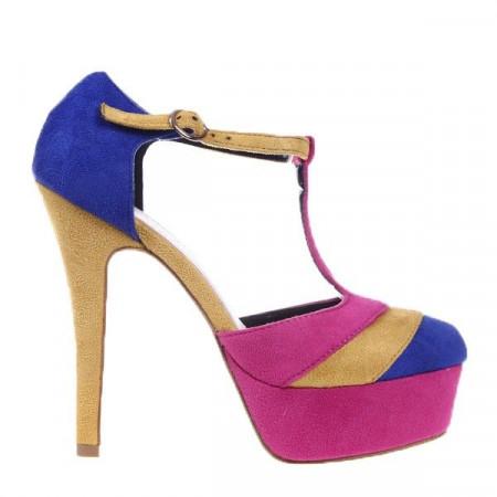 Pantofi albastri Morgan
