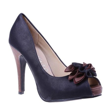Pantofi Bianca negru/maro