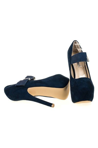Pantofi cu platforma Gilda blu
