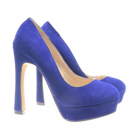 Pantofi dama albastri Start