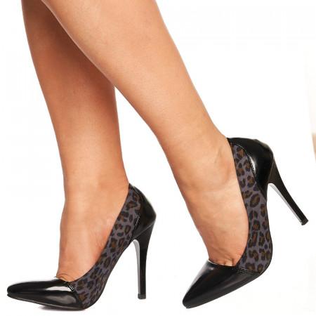 Pantofi stiletto cu toc inalt Chloe