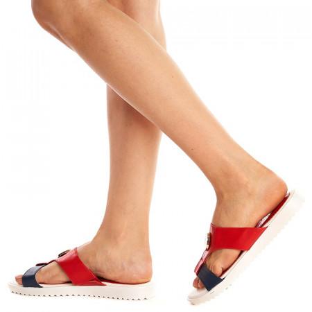 Papuci Kristeen rosa