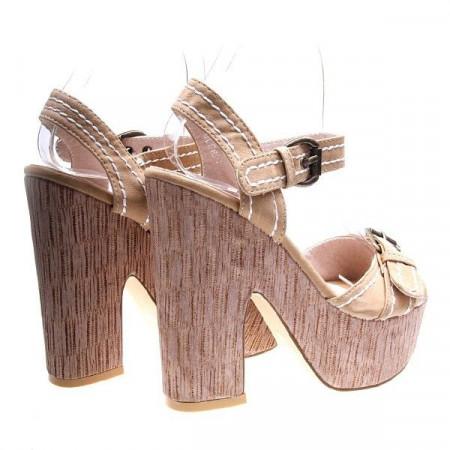 Sandale beige Mary