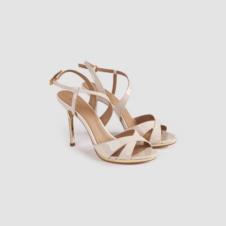 Sandale dama, LUCIA, Crem
