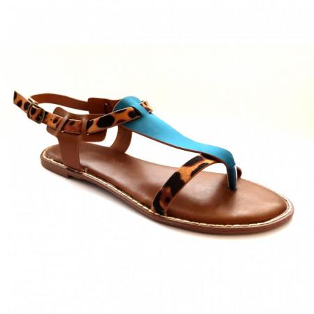 Sandale Dama, SAGE, Albastru