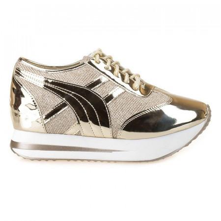 Sneakers cu talpa inalta Thea