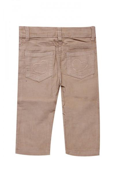 Pantaloni beige Delia