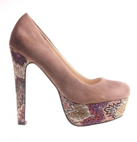 Pantofi dama khaki Julie