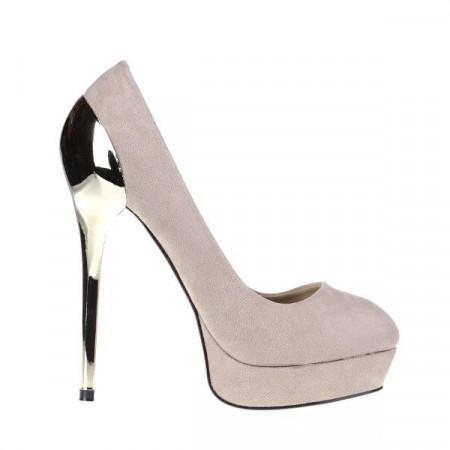 Pantofi Isabelle beige