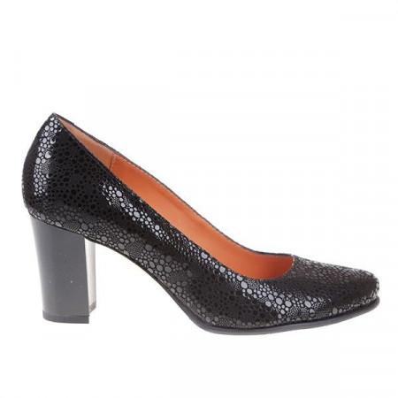 Pantofi office din piele naturala Genna