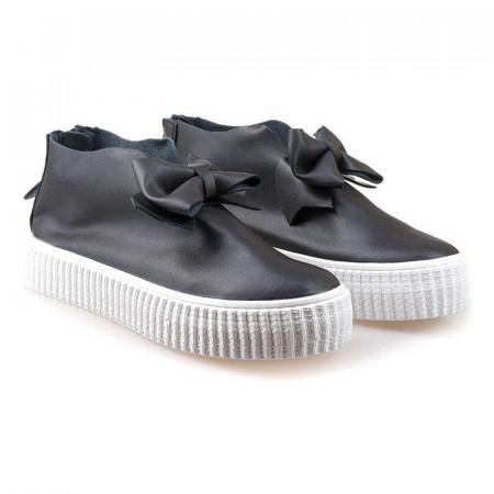 Pantofi sport cu funda Amalia blk