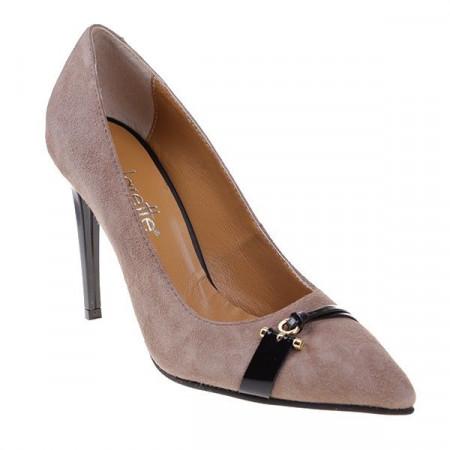 Pantofi Stiletto din piele naturala Arianne