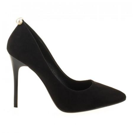 Pantofi stiletto din velur Alma