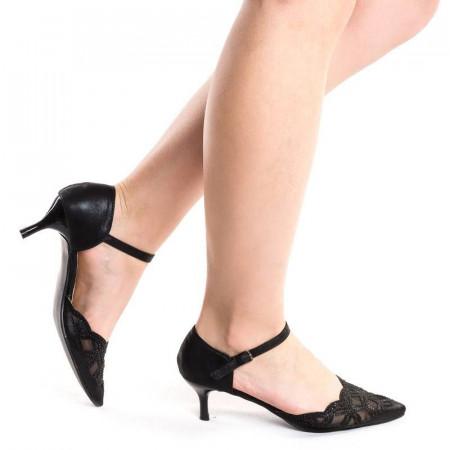 frumos ieftin cea mai buna calitate prize de fabrică Sandale elegante cu toc mic Martina