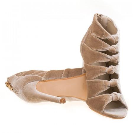 Sandale la moda velur Sandy