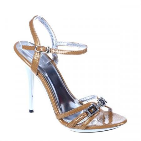 Sandale ocazie Miley camel