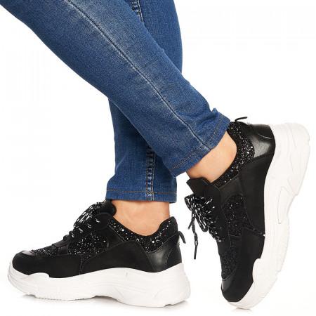 Sneakers Alison negru