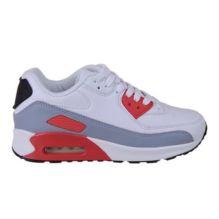 Sneakers trendy air max Amalia alb