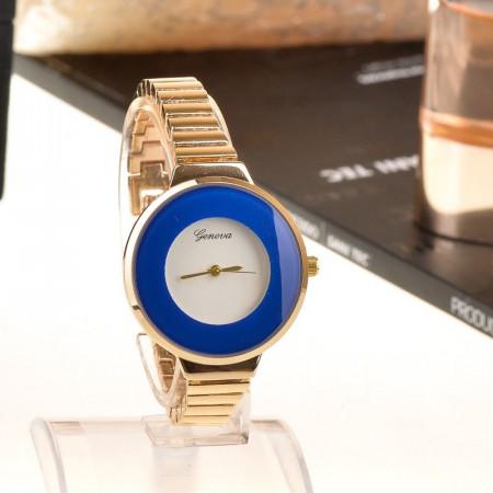 Ceas elegant Geneva blu