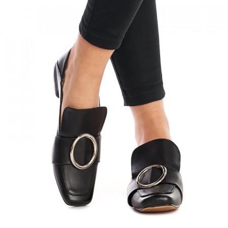 Mocasini trendy Salma negru