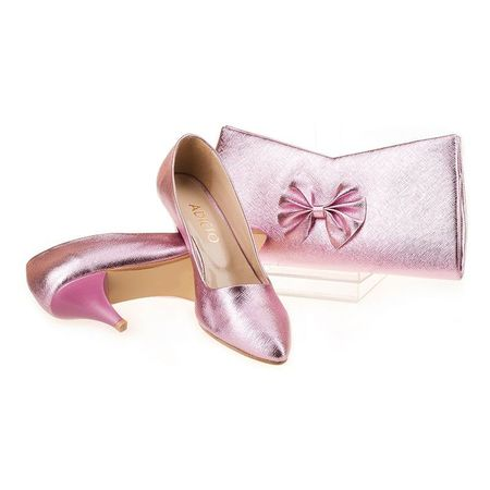 Pantofi de ocazie cu poseta inclusa Alma