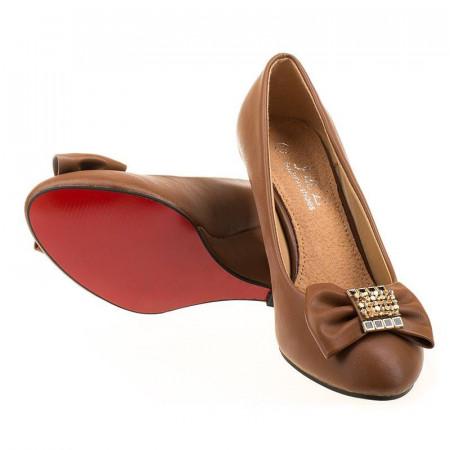Pantofi office cu platforma Bianca