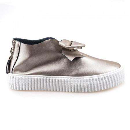 Pantofi sport cu funda Amalia silver