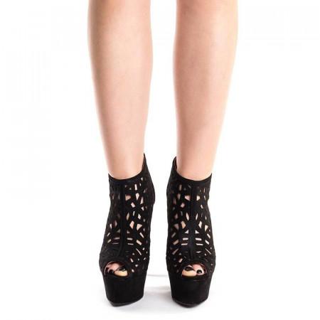 Sandale cu platforma si toc inalt Antonia