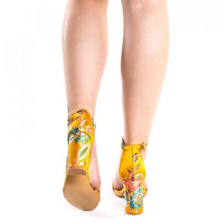 Sandale cu toc gros Ayami kiiro
