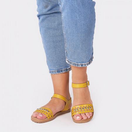 Sandale Dama MARTINA, Galben