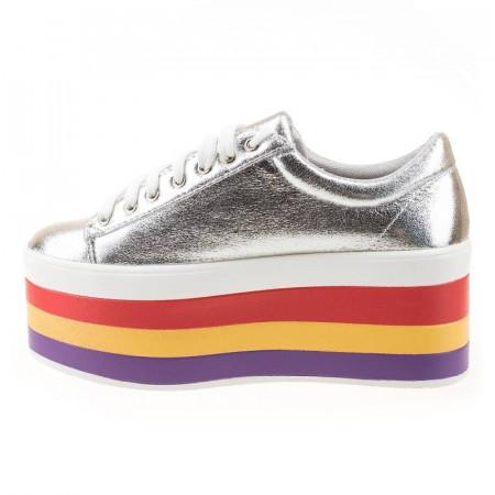 Sneakers cu talpa inalta Antonia