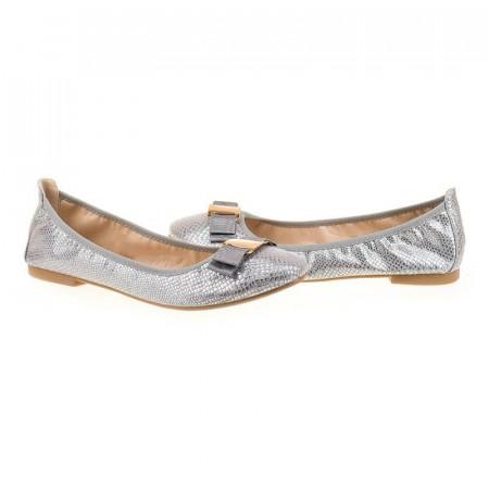 Balerini casual argintii Adria