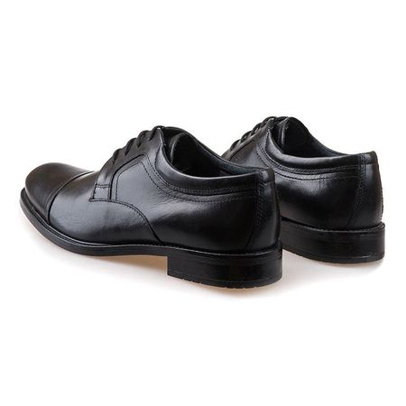 Pantofi barbati din piele naturala Carlos negru