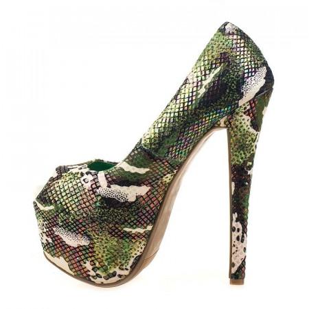 Pantofi cu platforma Paris