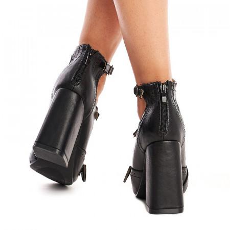 Pantofi cu toc gros trendy Sabrina