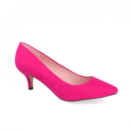 Pantofi Dama, Toc mic, Fuxia