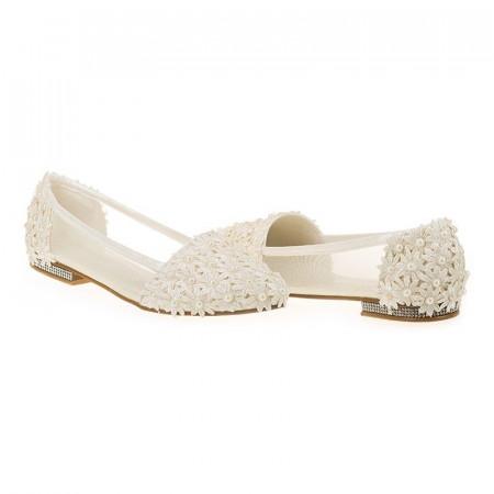 Pantofi de mireasa cu poseta inclusa Maria