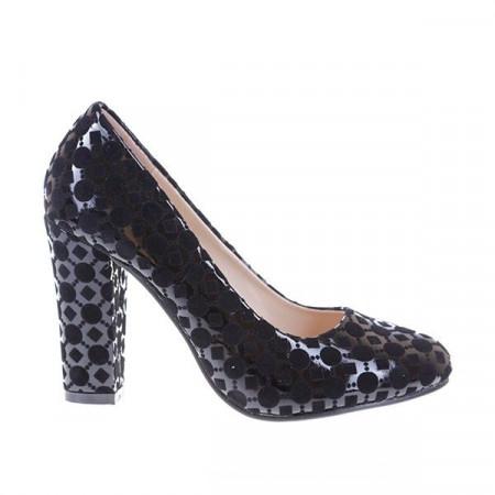 Pantofi eleganti cu toc Adelaida