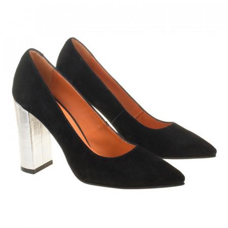 Pantofi stiletto din piele naturala Amalia